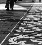 Decoración española de la calle foto de archivo