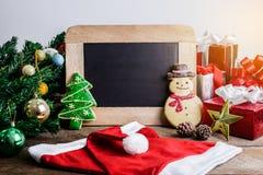 Decoración festiva, galleta de la Navidad y Año Nuevo en la forma o Foto de archivo
