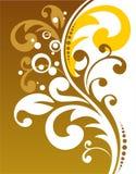 Decoración floral de bronce