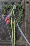 Decoración floral de la boda Foto de archivo