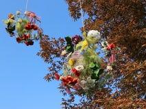 Decoración floral del otoño metrajes