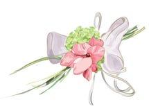 Decoración floral Wedding con el Hydrangea y el gladiolo. Foto de archivo