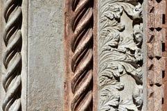 Decoración gótica de la iglesia Foto de archivo libre de regalías