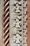 Decoración gótica de la iglesia Imágenes de archivo libres de regalías