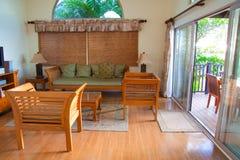 Decoración hawaiana de la casa Imagen de archivo
