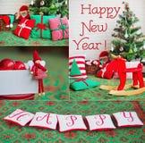 Decoración hecha a mano de la casa festiva Fotos de archivo libres de regalías
