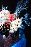 Decoración hecha a mano de la Navidad Fotos de archivo libres de regalías