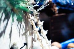 Decoración hecha a mano de la Navidad Foto de archivo libre de regalías