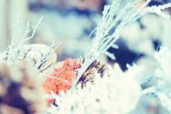 Decoración hecha a mano de la Navidad Imagen de archivo