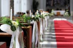 Decoración hermosa de la boda de la flor Fotografía de archivo