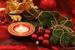Decoración hermosa de la Navidad Fotografía de archivo