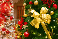 Decoración hermosa de la Navidad Foto de archivo libre de regalías