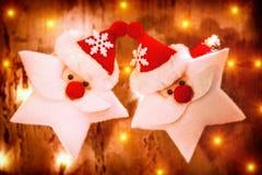 Decoración hermosa de la Navidad Foto de archivo