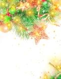 Decoración hermosa de la Navidad Fotografía de archivo libre de regalías