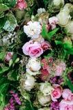Decoración hermosa de las flores Fotos de archivo libres de regalías