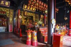 Decoración hermosa de Vihara Buddhagaya Watugong Fotos de archivo libres de regalías