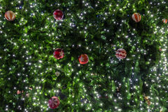 Decoración hermosa del árbol de navidad Imagen de archivo