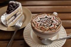 Decoración hermosa del café Fotografía de archivo