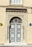 Decoración hermosa en una casa en Kairouan, Túnez foto de archivo libre de regalías