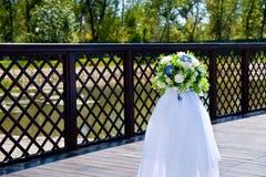 Decoración hermosa para casarse Fotografía de archivo