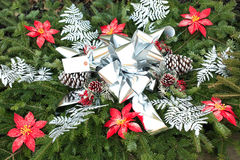 Decoración imperecedera de la Navidad foto de archivo