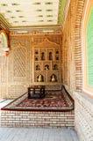 Decoración interior de Arabia fotografía de archivo
