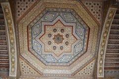 Decoración interior del palacio de Bahía Foto de archivo libre de regalías