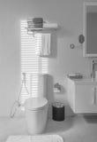 Decoración interior en cuarto de baño Imagen de archivo