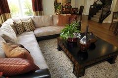Decoración interior residencial Foto de archivo libre de regalías