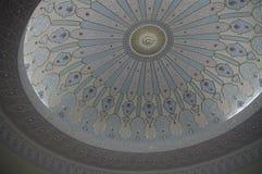 Decoración islámica de la bóveda Imágenes de archivo libres de regalías