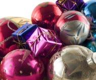 Decoración IV de la Navidad Fotografía de archivo