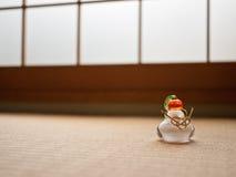 Decoración japonesa del Año Nuevo Imagenes de archivo