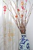 Decoración lunar china del árbol del Año Nuevo Imagen de archivo libre de regalías