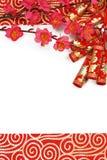 Decoración lunar china del Año Nuevo Imagen de archivo libre de regalías