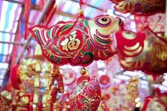 Decoración lunar del Año Nuevo de China Fotografía de archivo