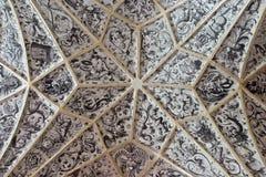 Decoración medieval del techo Fotos de archivo libres de regalías
