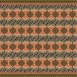 Decoración moderna del adorno del batik Foto de archivo