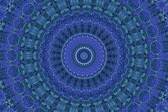 Decoración oriental en azul Imagenes de archivo
