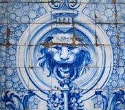 Decoración oriental en color azul foto de archivo libre de regalías