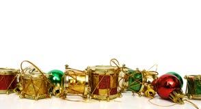 Decoración - ornamento de la Navidad Fotografía de archivo