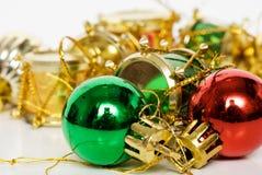 Decoración - ornamento de la Navidad Fotografía de archivo libre de regalías