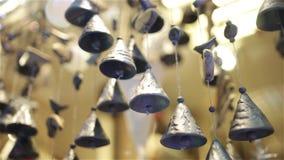 Decoración 1080p 25fps de las campanas de la Navidad almacen de video
