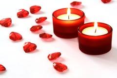 Decoración para el día de tarjeta del día de San Valentín Foto de archivo libre de regalías
