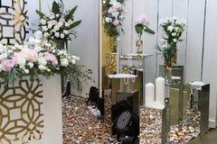 Decoración para el festival de la boda en Ucrania Foto de archivo