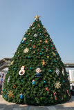 Decoración para la Feliz Navidad Imágenes de archivo libres de regalías