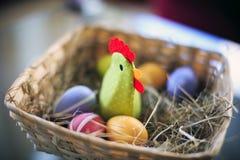¡Decoración para Pascua feliz! Imagenes de archivo