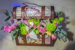 Decoración preciosa y romántica rústica imagen de archivo libre de regalías