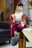 Decoración Santa Claus de la Navidad Foto de archivo libre de regalías