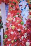 Decoración Snoopy de la Navidad de APM en Hong Kong Fotos de archivo libres de regalías