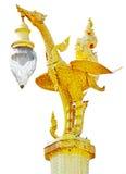 Decoración tailandesa de la linterna del cisne del estilo imagen de archivo